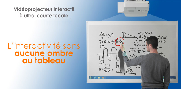 interactieve videoprojector eBeam + NEC